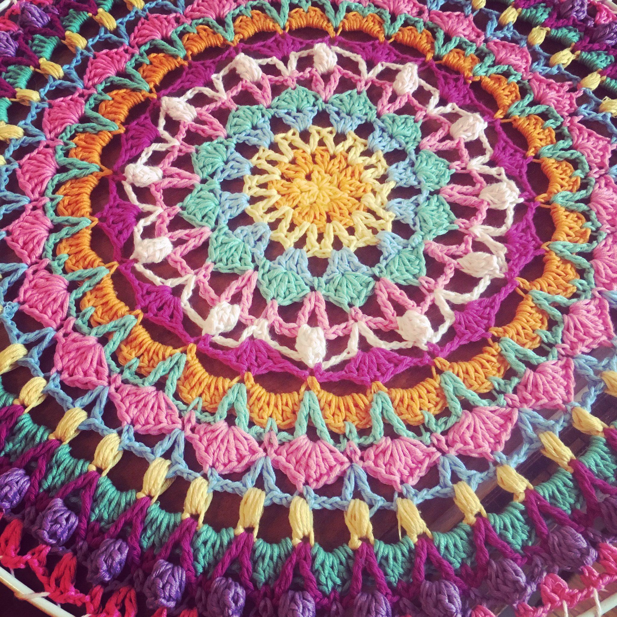 Crochet Along Mandala (Project CALM)