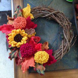 Autumn Wreath Thursday 24th October