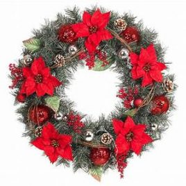 Crochet Along Christmas Wreath