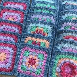 Flower Patch Bag Crochet Along Zoom Classes